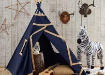 A-perfect-teepee-for-the-boys-room-in-blue-Indigo-Mini-Teepee-217x155