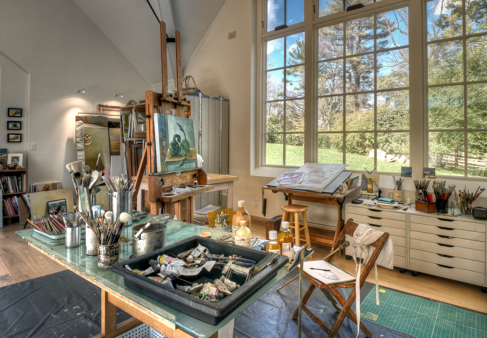 Attirant Creative Corners: Incredible And Inspiring Home Art Studios