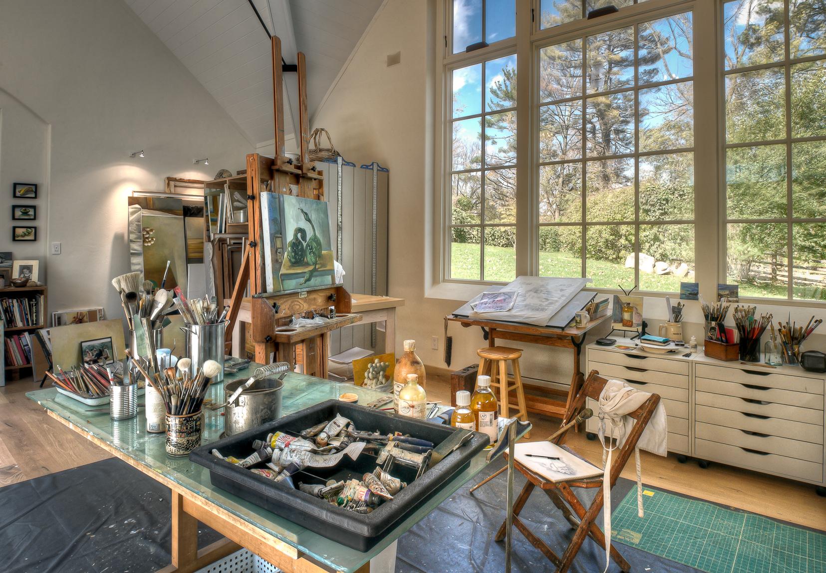 Creative Corners Incredible and Inspiring Home Art Studios