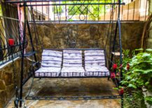 Balcony-garden-swing-with-an-industrial-look-217x155