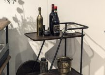 Bar Cart from District Eight 217x155 Roll in the Fun Times: 15 Trendy Décor Finds on Wheels