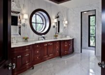 Beautiful-marble-bathroom-with-a-wooden-wound-window--217x155