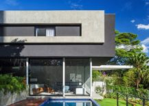 Brazilian modern home with open ambiance 217x155 Brazilian Modern: Poised Multi Level Family Home in Sao Paulo