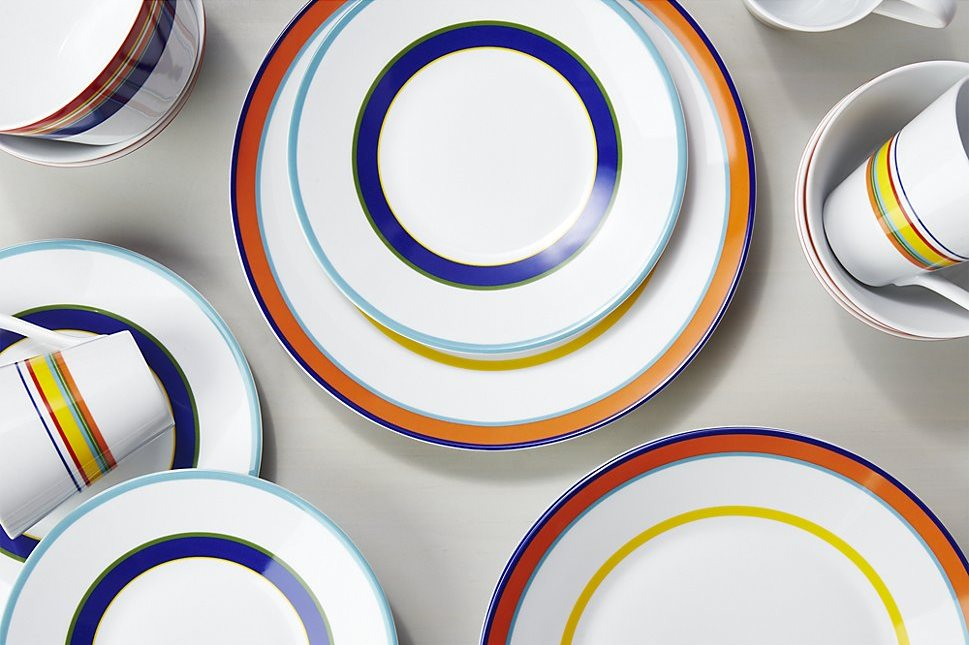 Cirque dinnerware from Crate & Barrel