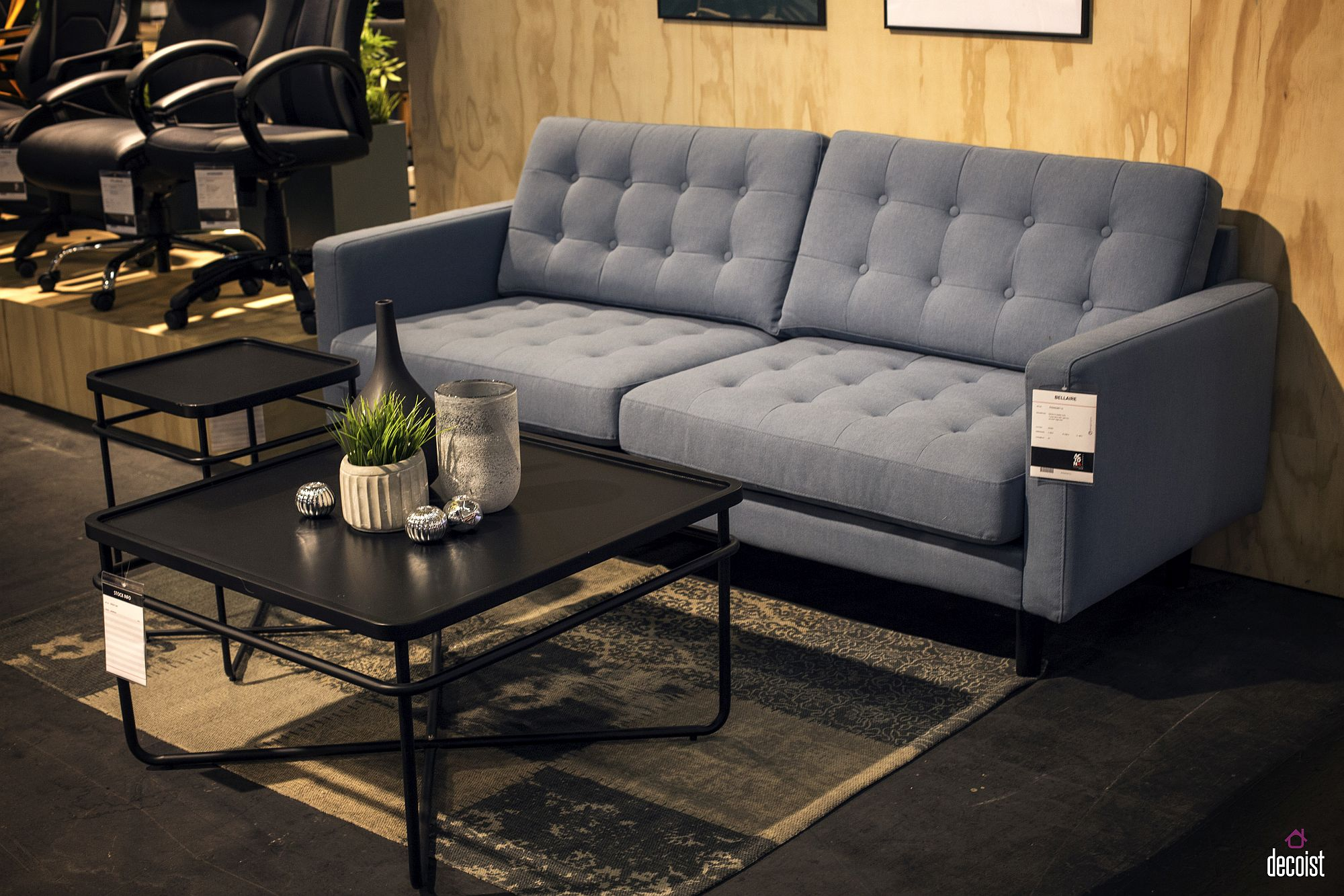 Compact sofa bed designed by ACTONA Company