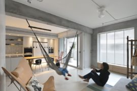 This Space-Savvy Taipei Apartment Does Away with Unnecessary Walls