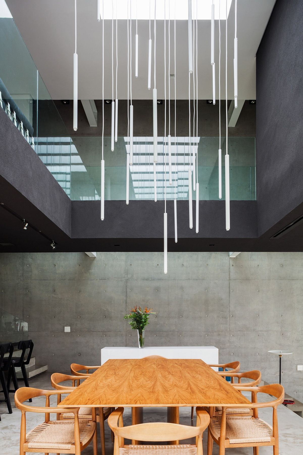 modern poised multi level family home in sao paulo
