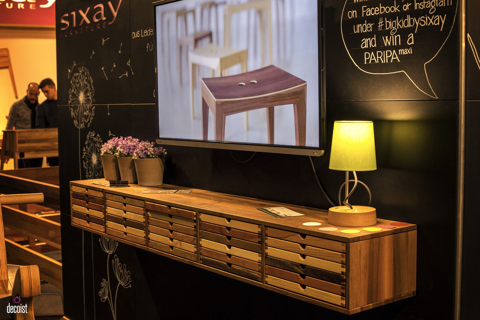 Dashing wooden floating sideboad from Sixay furniture 10 Floating Wooden Cabinets and Shelves that Offer Modular Ease