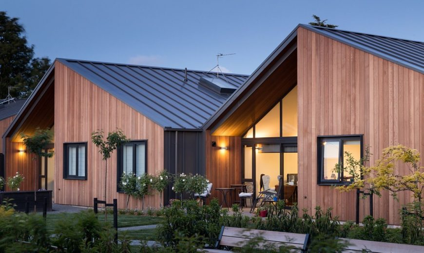 Classic Gable Roofs and a Curated Landscape Enthrall at Mary Potter Apartments
