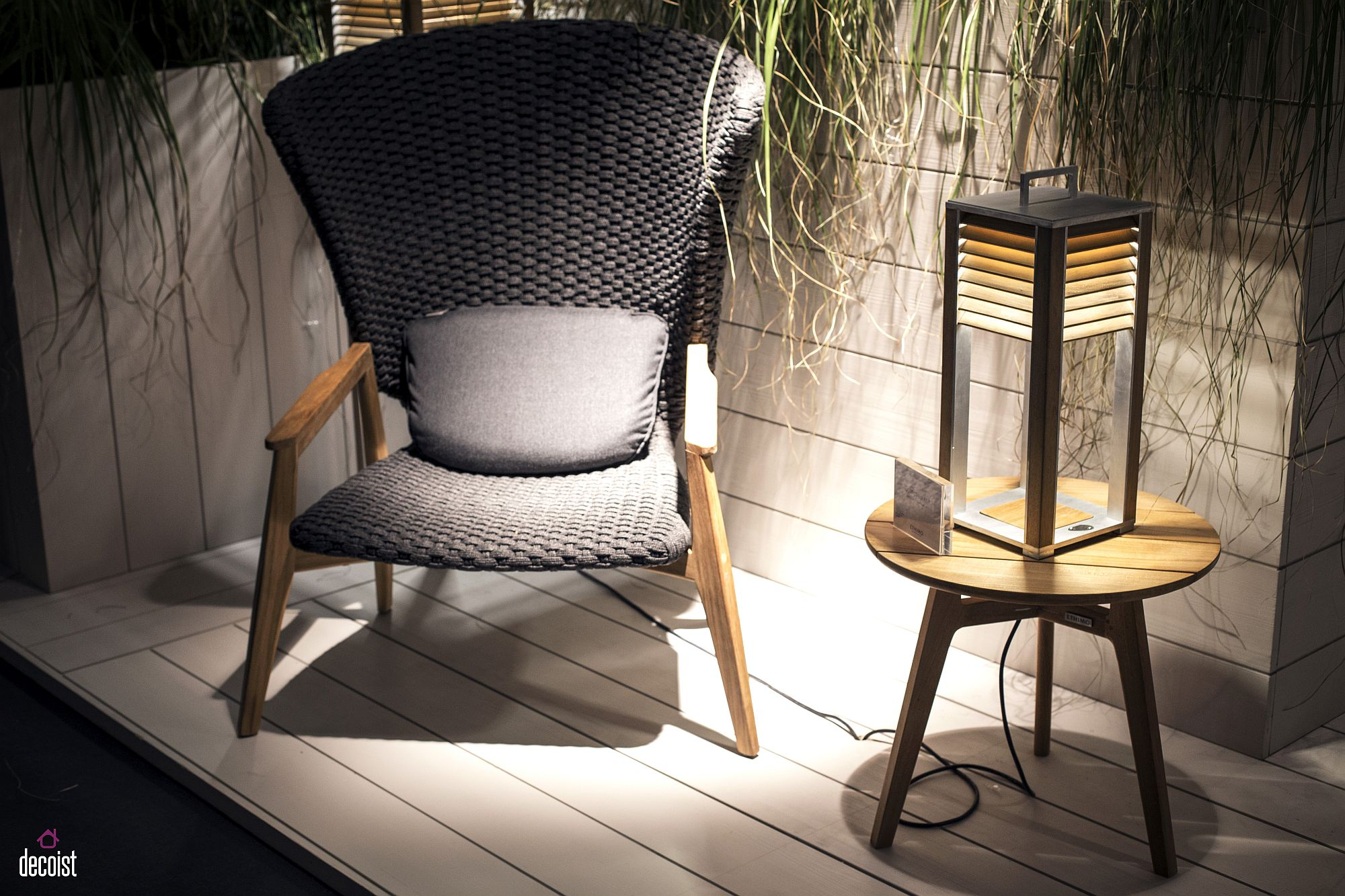 Ethimo brings a series of outdoor decor and smart lighting