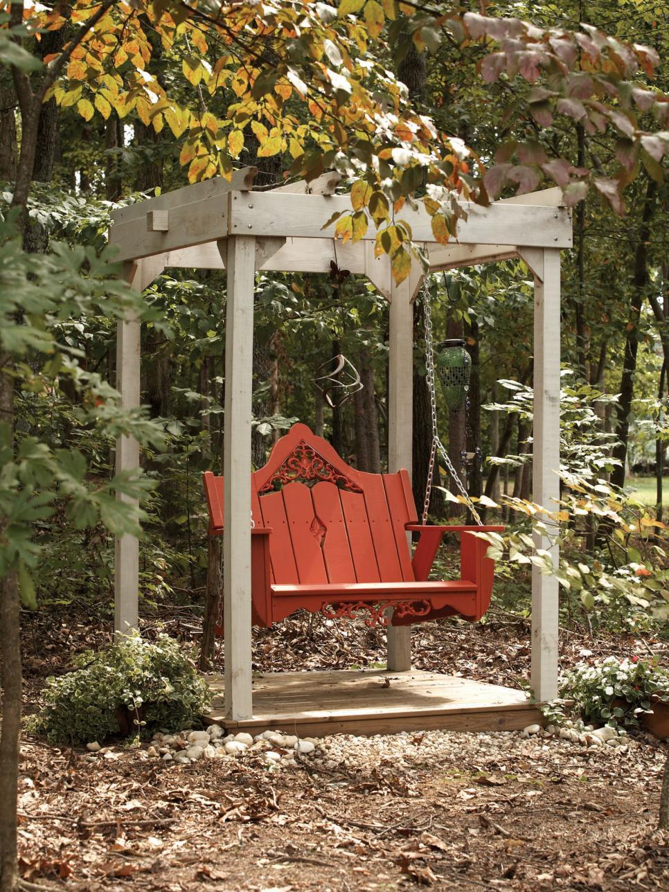 Fairytale-like-garden-among-the-trees-