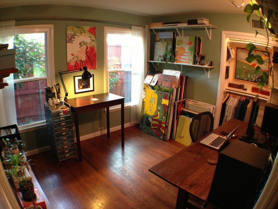 Beau Creative Corners: Incredible And Inspiring Home Art Studios