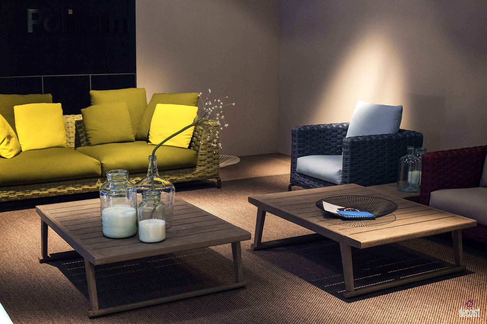 Ingenious sofa in yellow is he perfect way to give the living room a cheerful focal point