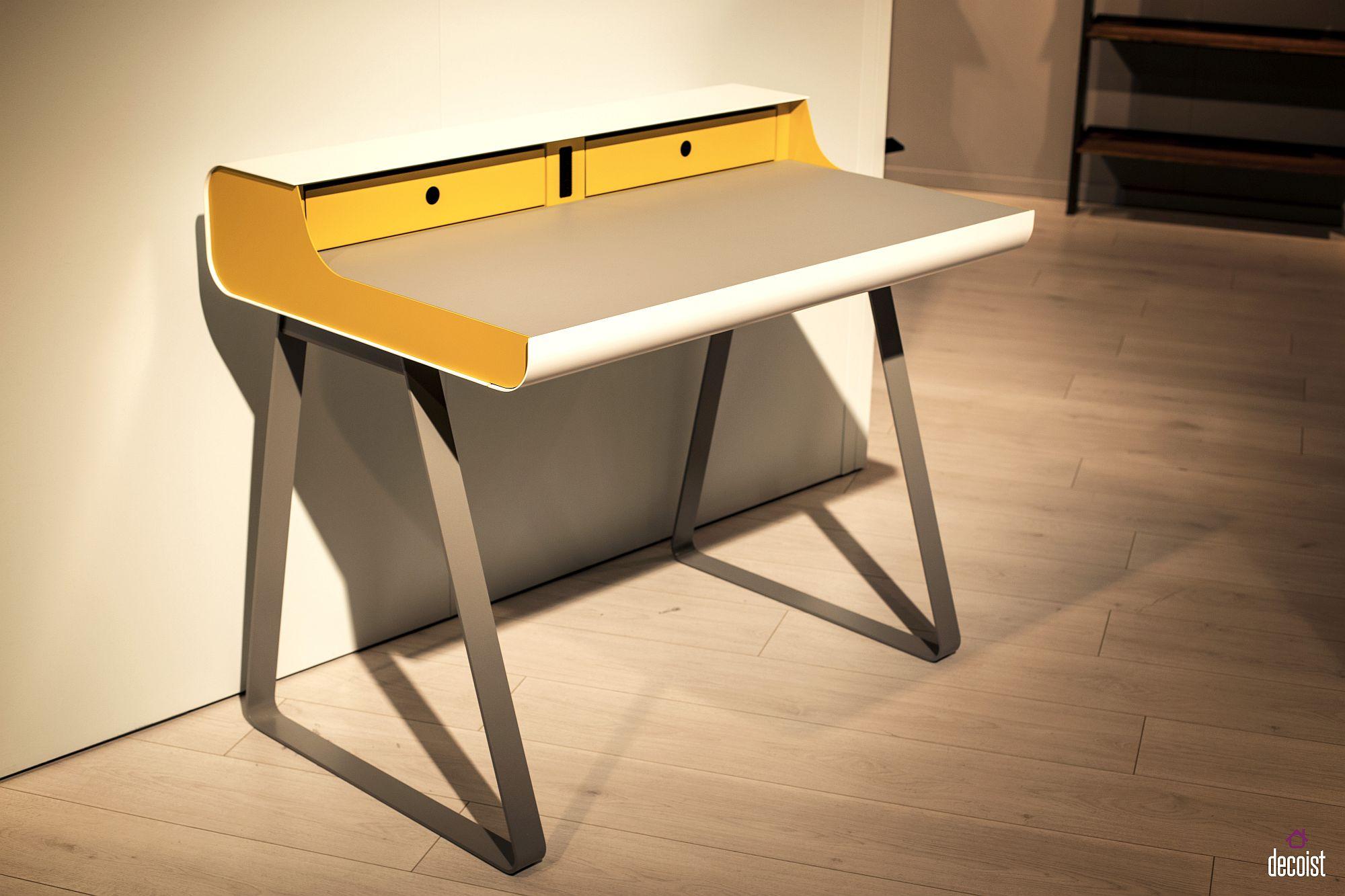 Innovative desk design from Muller