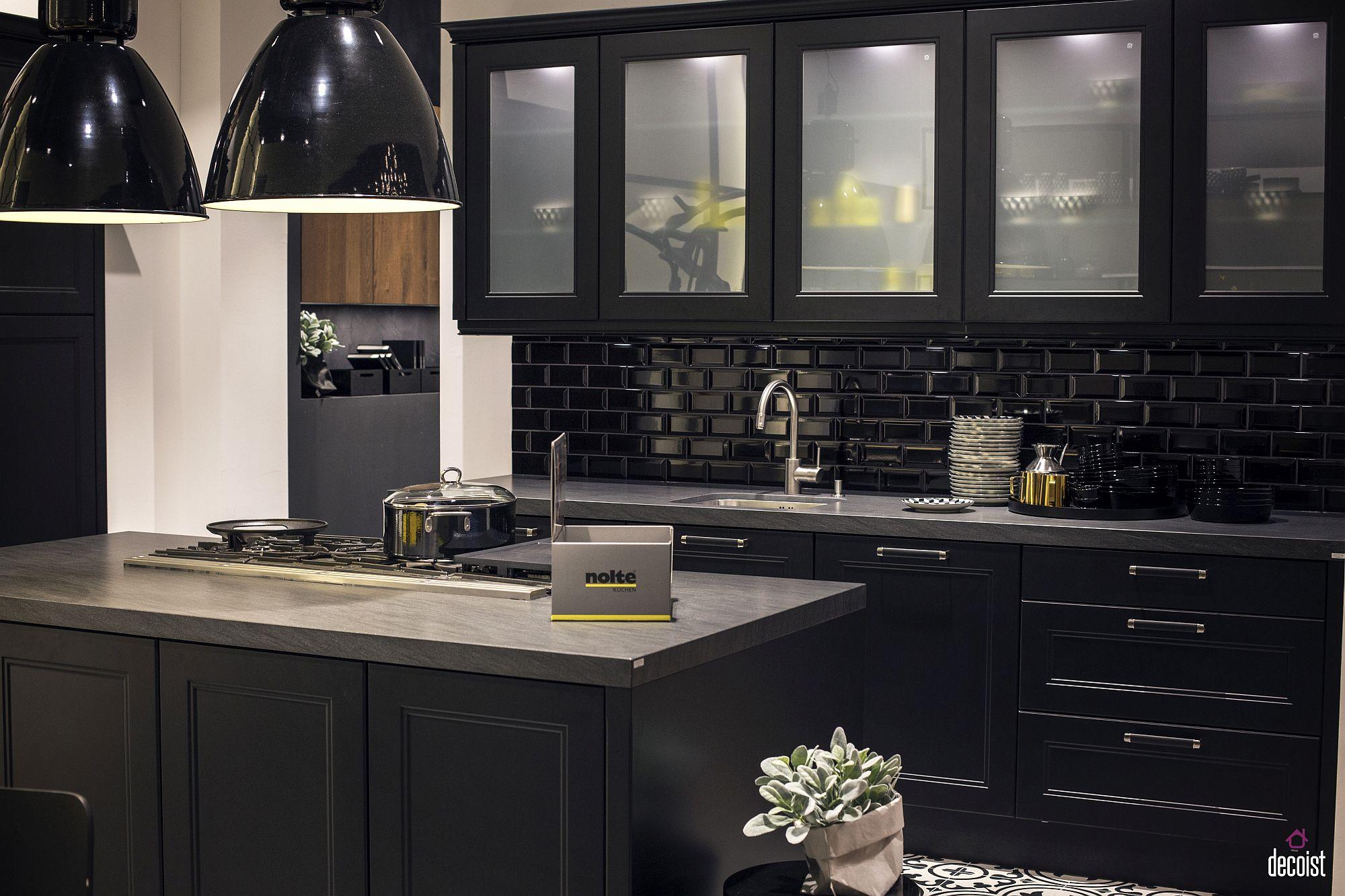 Dapur Warna Hitam | Desainrumahid.com