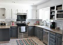 If Wood Is Not Your Thing And You Still Wish To Inject Some Colorful Zest  Into The Gray And White Kitchen, Then Smart Cabinets In Pastel Hues Might  Be Worth ...