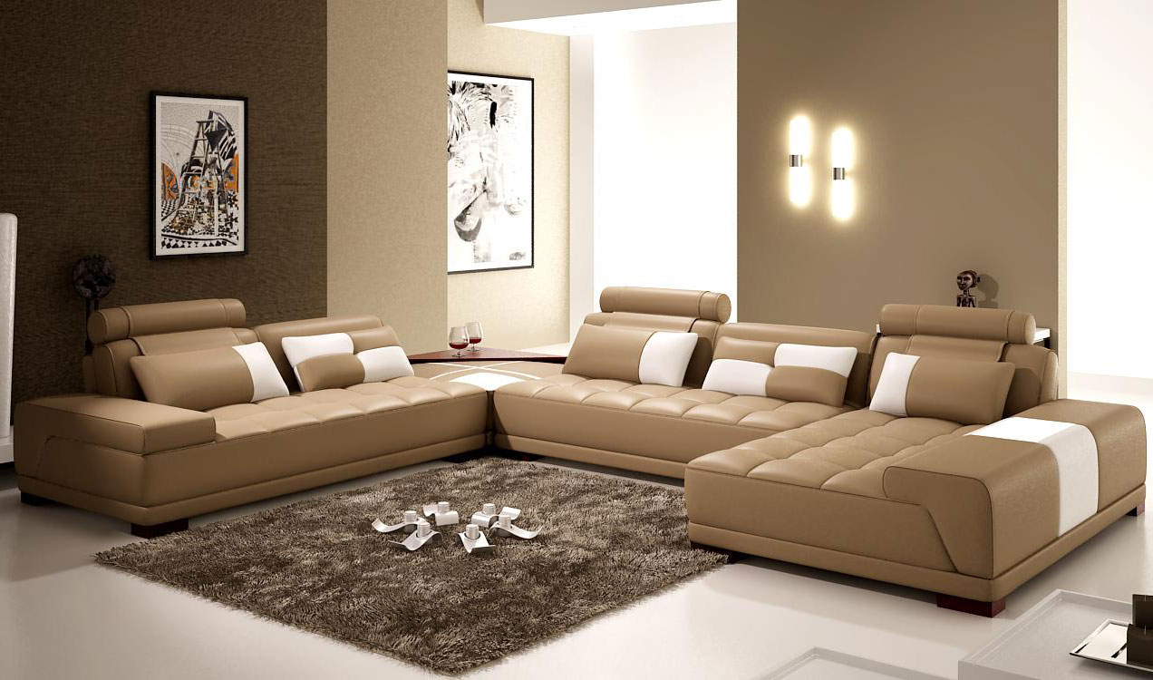 Beyond white bliss of soft and elegant beige living rooms for Beiges sofa welche wandfarbe