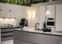 Gray And White Modern Kitchen classic and trendy: 45 gray and white kitchen ideas