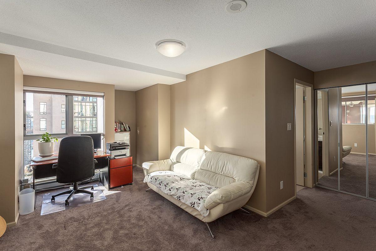 Loft level home workspace