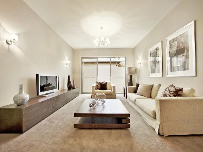 Wonderful View In Gallery. Wooden Elements Are The Greatest Choice For A Beige Living  Room!