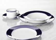 Maison Cobalt Blue dinnerware from Crate Barrel 217x155 New Tabletop Trends for Spring and Summer