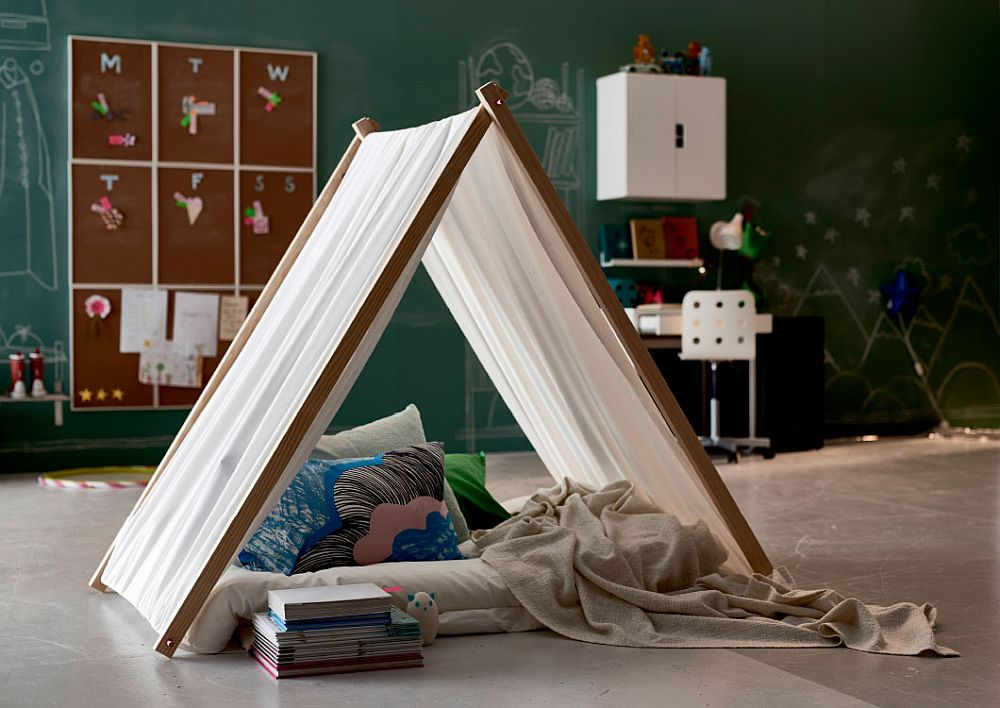 Fun design 10 fabulous teepees for that playful kids room - Zelt kinderzimmer ikea ...