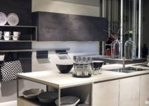 Minimal-and-modern-kitchen-in-white-and-gray-217x155