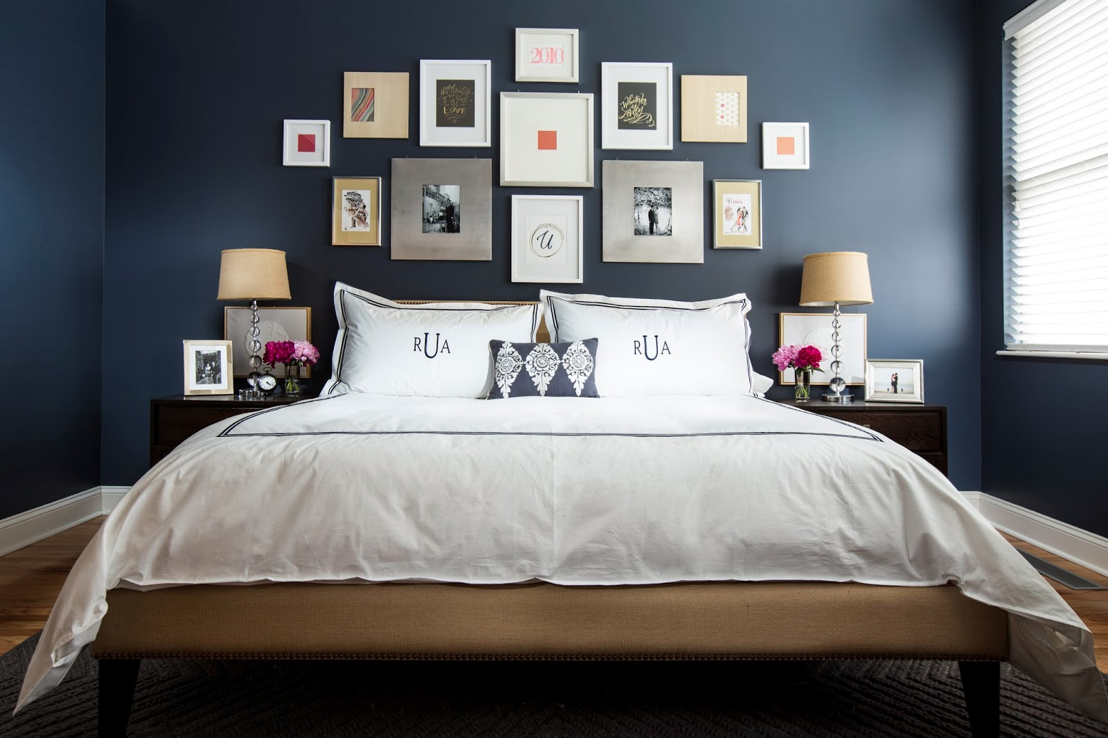Dark blue and black bedroom - Navy Blue And Black Bedroom Ideas Amazing Design On