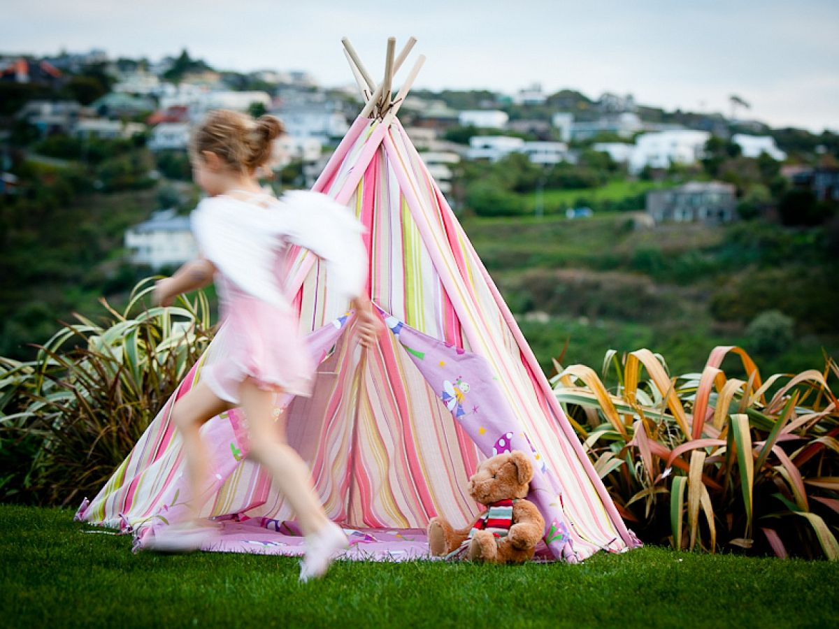 Mocka Kids Teepee Fun Design: 10 Fabulous Teepees for that Playful Kids' Room