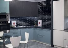 Modern-kitchen-in-blue-gray-black-and-white-217x155