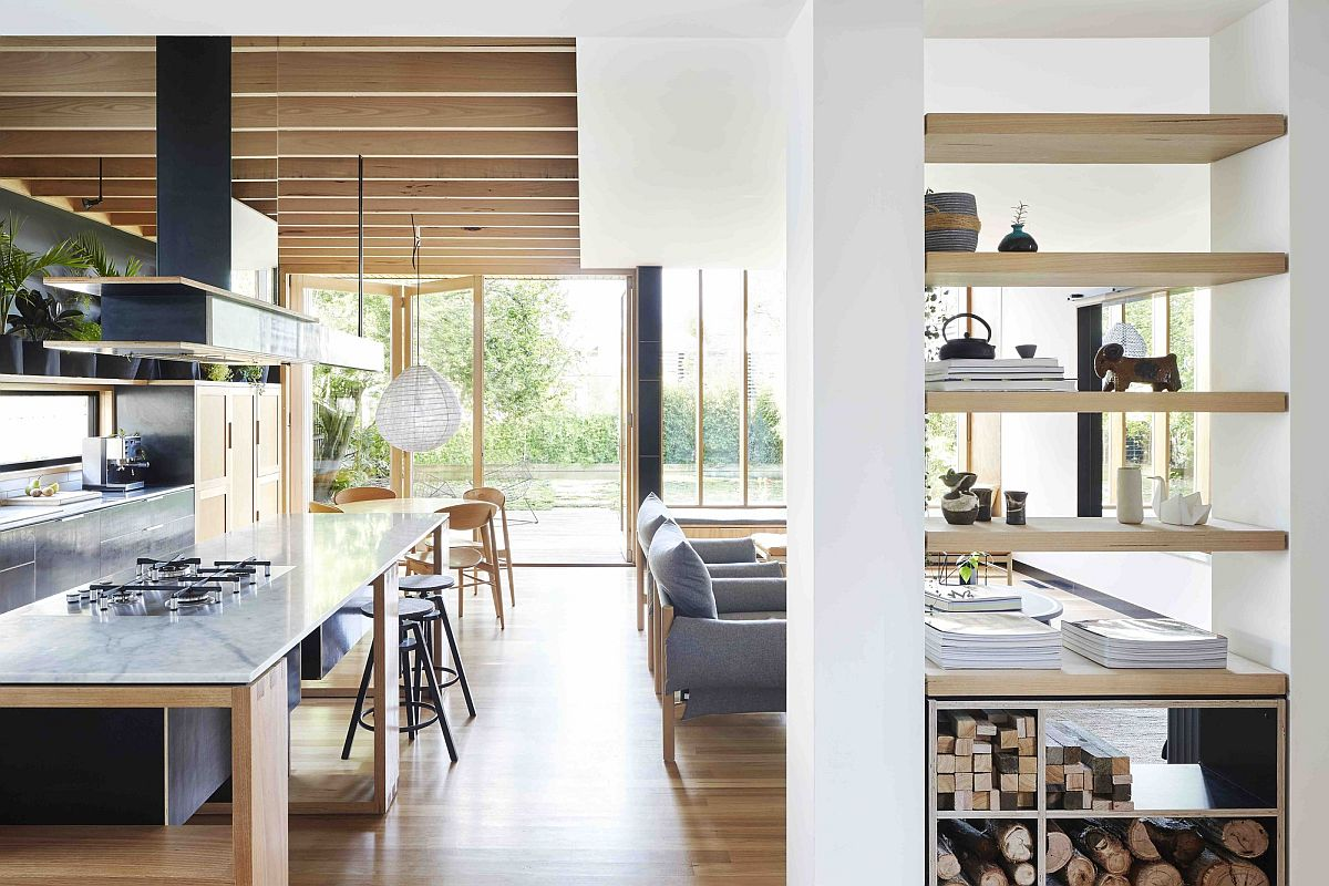Modern wooden box extension of the Aussie home