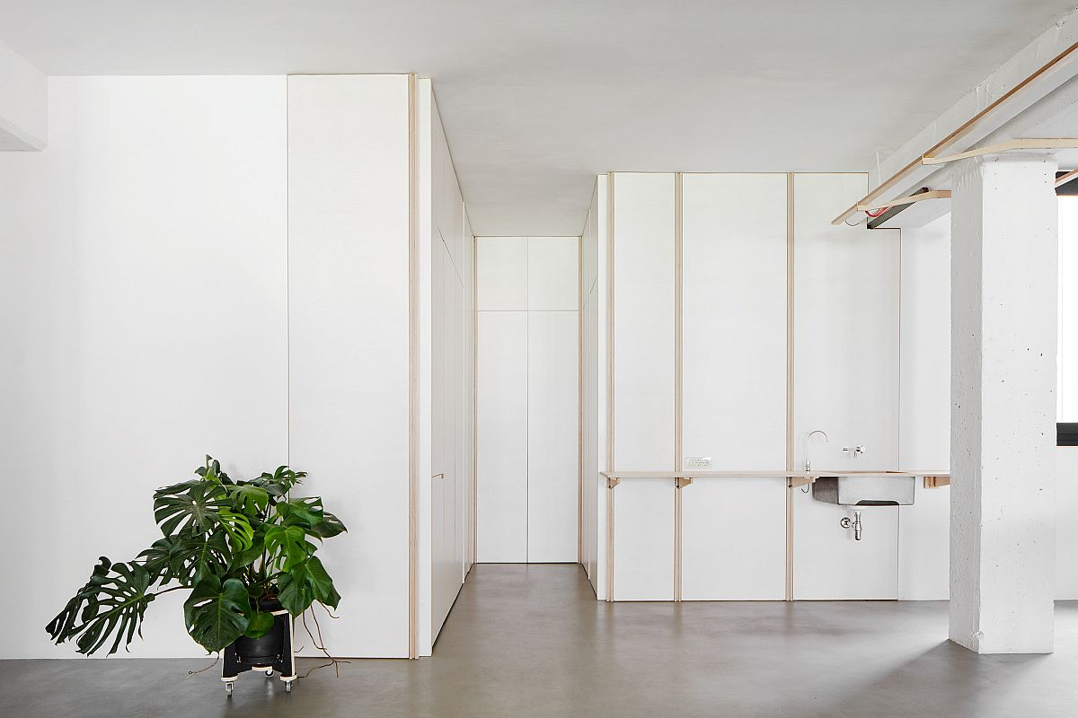 Modular units can be tucked away when not in use