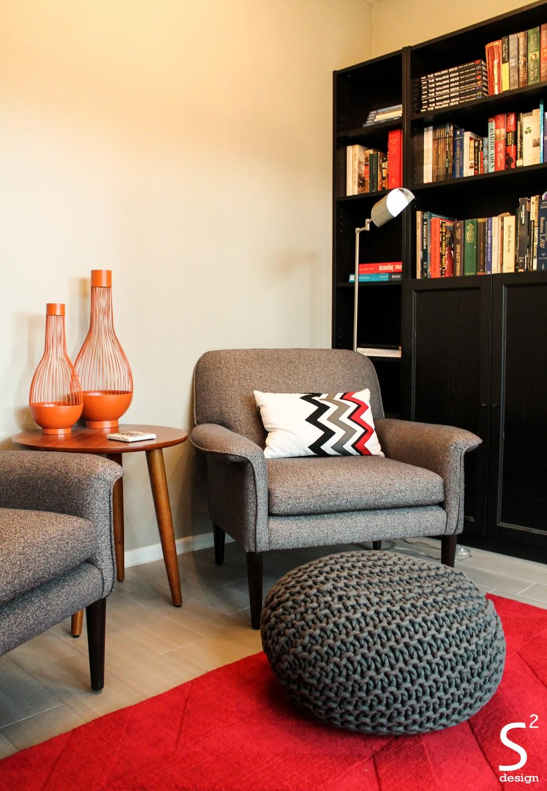 Multipurposed modern reading nook