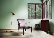 OW124 black painted oak with leather 217x155 Carl Hansen & Søn Adds Three Classic Chair Designs to Portfolio
