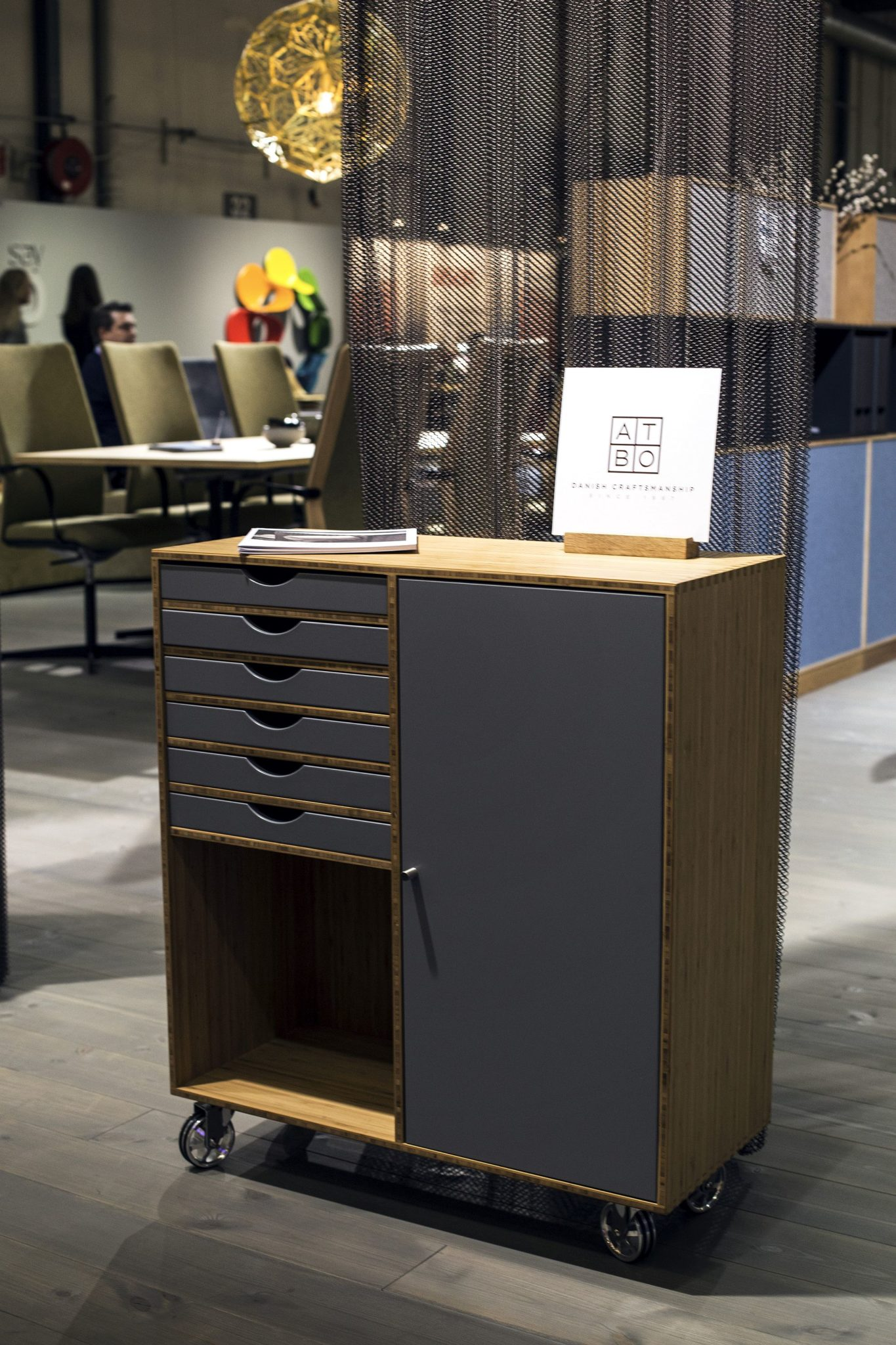 Perfect-place-to-tuck-away-all-your-office-needs-Cabinet-on-wheels