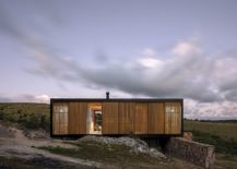 Prefab on the edge of an olive field offers a tranquil retreat 217x155 Green Prefab in Uruguay Redefines Boundaries with Minimalist Approach