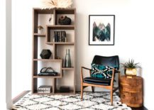 Raised-reading-nook-with-a-contemporary-bookcase-217x155