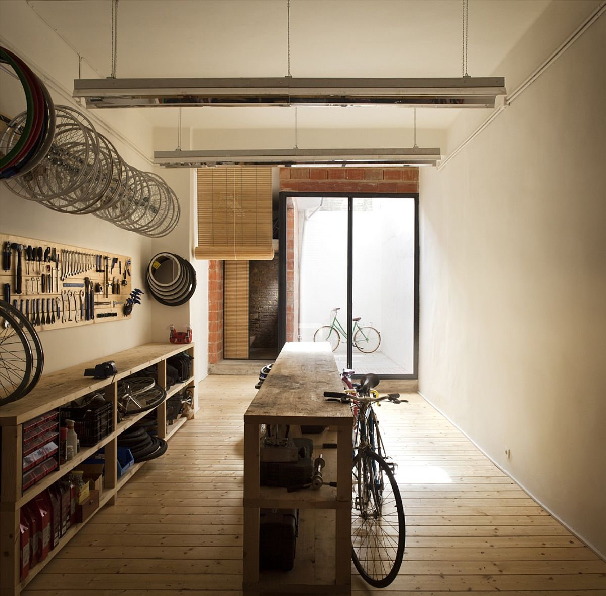Revamped Bullit Cyclery with a more spacious look