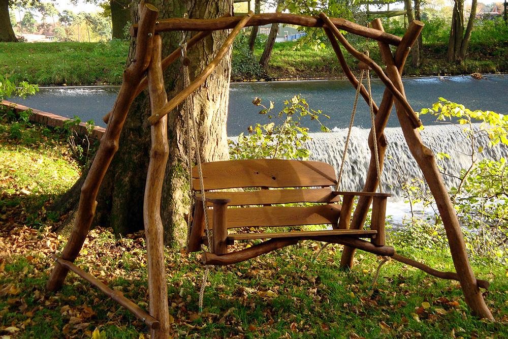 garden swings the enchanting element in your backyard