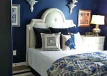 Smaller-bedroom-with-navy-blue-walls-217x155