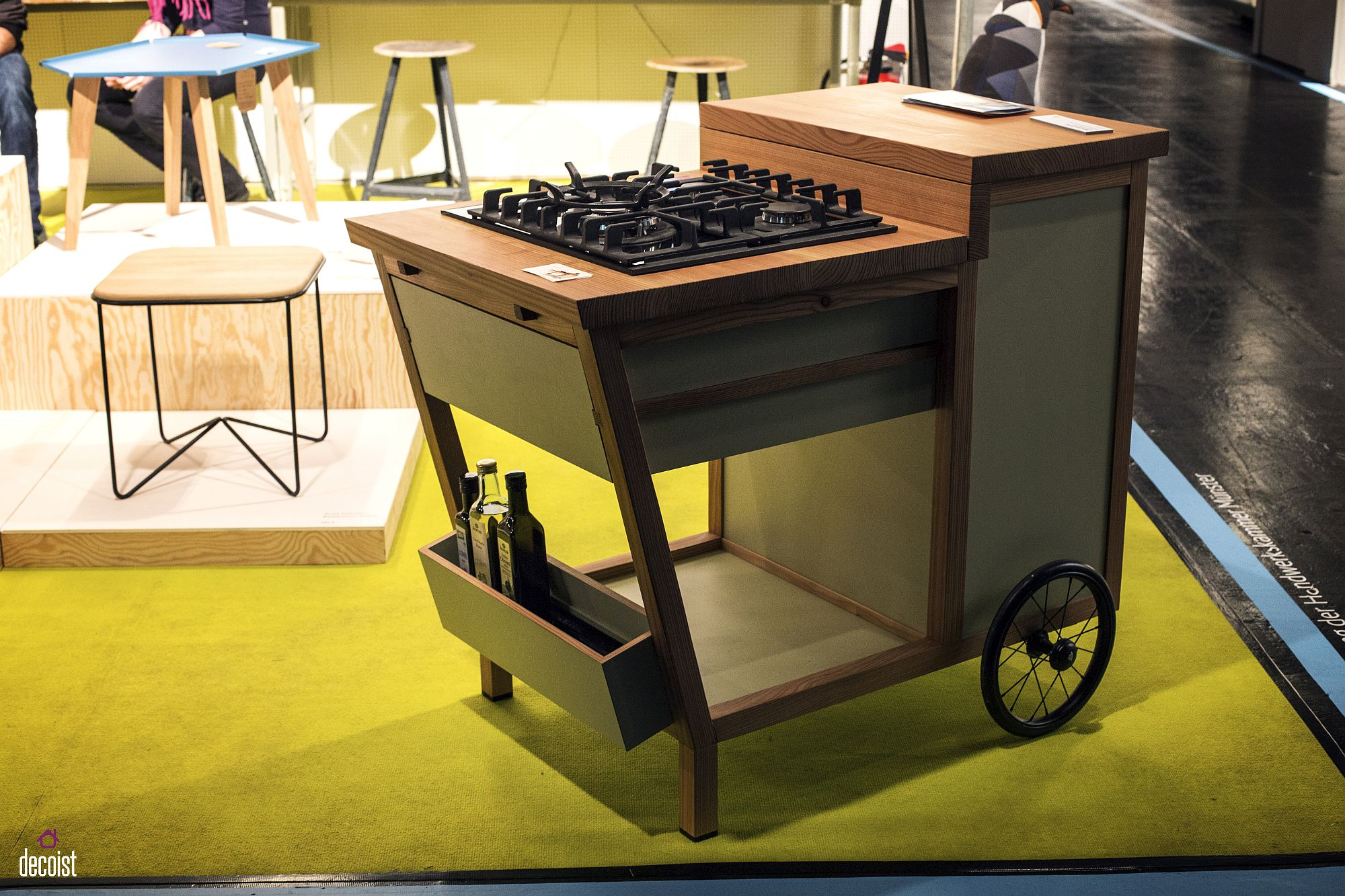 Smart decor on wheels allows you to redecorate with ease Roll in the Fun Times: 15 Trendy Décor Finds on Wheels