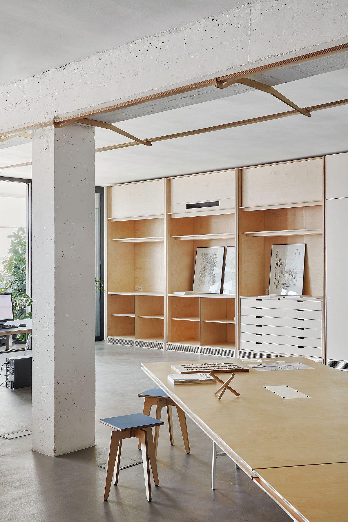 Smart design of old industrial building turned into modern design office