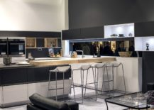 Spacious-kitchen-with-wooden-block-as-breakfast-bar-217x155