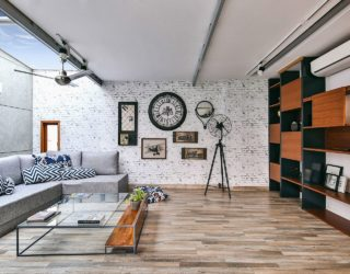 Mixing Work and Play: Multi-Purpose Studio on Terrace with Modular Ease