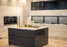 Subtle-addition-of-chevron-pattern-to-the-modern-kitchen-217x155