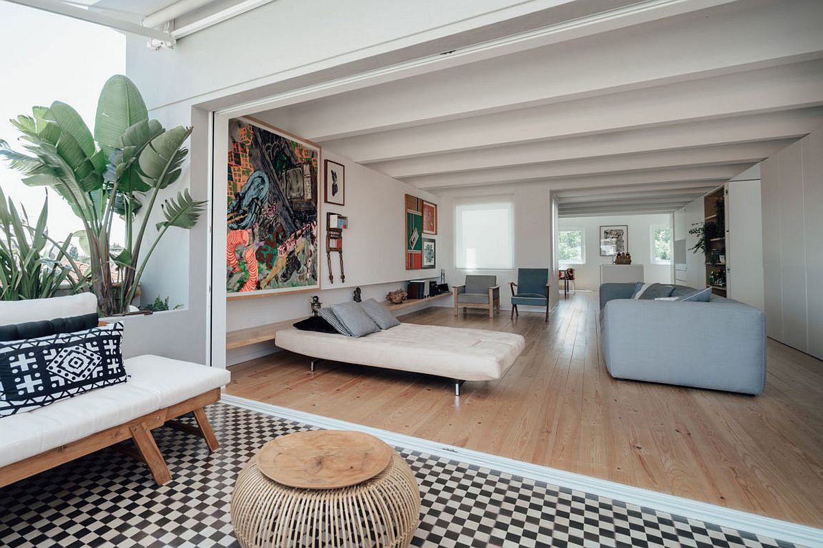 This Radiant Makeover Of 1930 S Lisbon Apartment Relies On