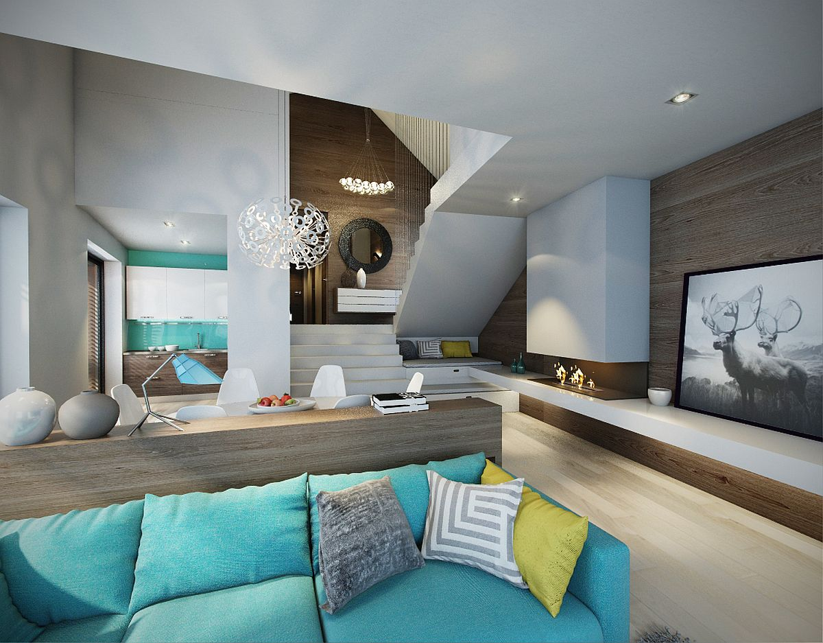 Turquoise-brings-colorful-zest-to-the-living-room