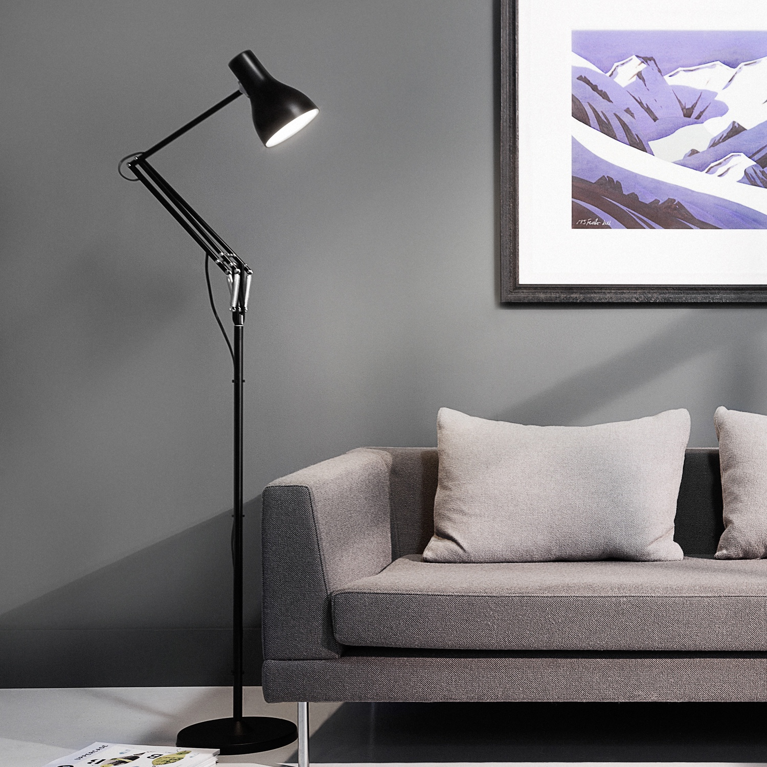 Type-75™-floor-lamp-in-black