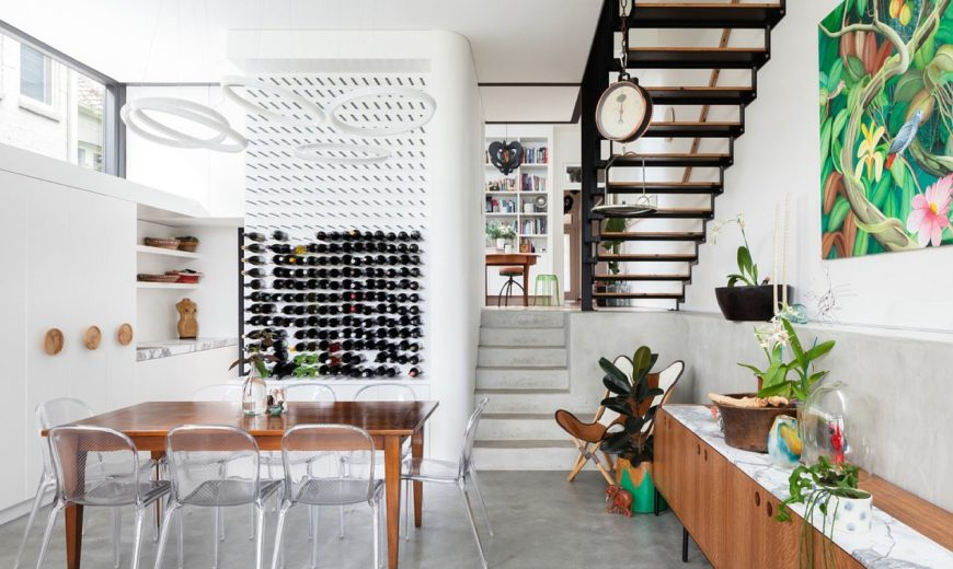 Dolls House: Light-Filled Addition Revamps Semi-Detached Sydney Home