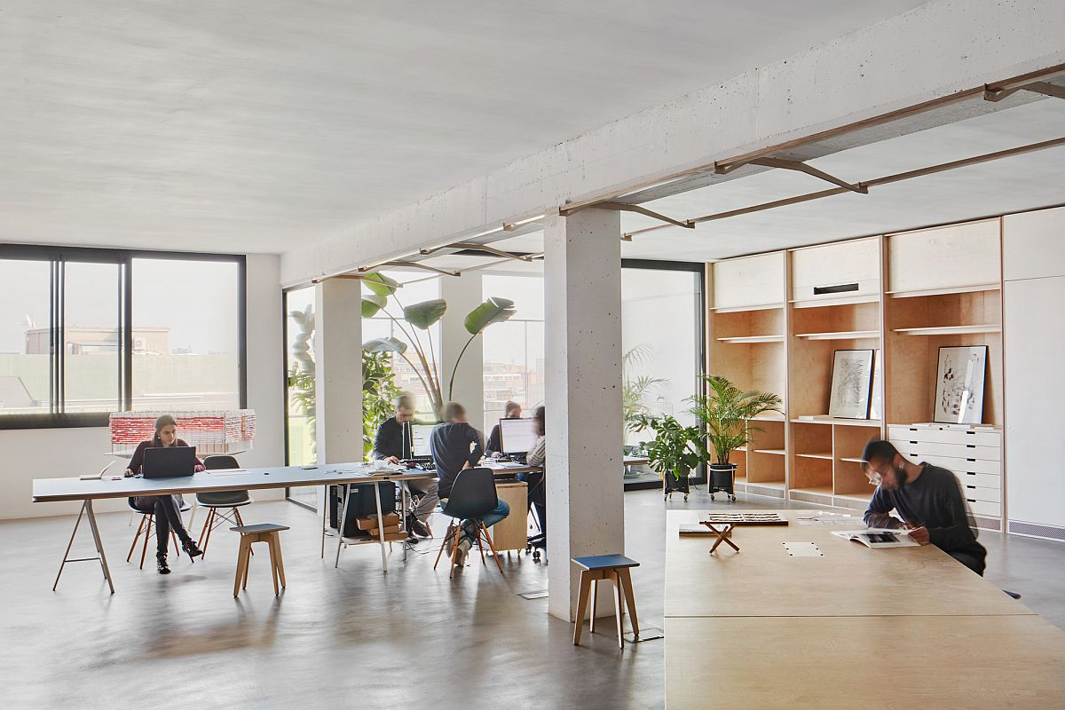 Warehouse turned into office space in 22@Barcelona – Innovation District